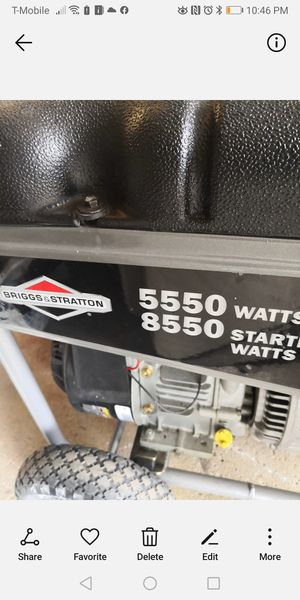 Generator Briggs & stratton for Sale in Glendale Heights, IL
