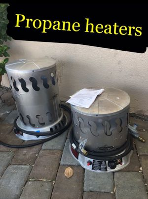 Propane heater 60 each for Sale in Ontario, CA