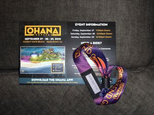 Ohana Festival GA Three Day Weekend Pass for Sale in Ontario, CA