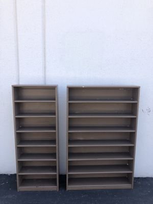 Set of Book / DVD / CD Shelves for Sale in Los Angeles, CA