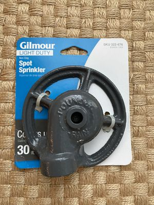 Gilmour spot sprinkler for Sale in Falls Church, VA