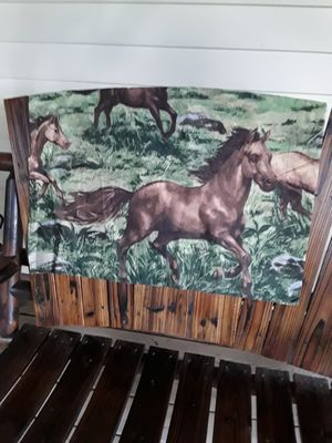 Set of 2 horse pillow cases,,,27x32,,,,new. for Sale in Linden, PA