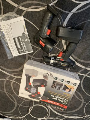 Cordless drill and flashlight kit for Sale in Lawrence, MA