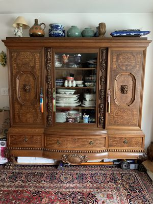 Antique Display Hutch (from Germany) for Sale in Puyallup, WA
