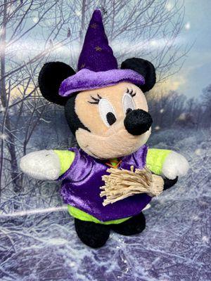 "Halloween Minnie Mouse 10"" plush. Disney Halloween plushie for Sale in Long Beach, CA"