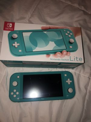 Nintendo switch lite + 2 games + charger for Sale in Tempe, AZ