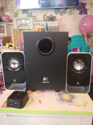 Logitech LS21 2.1 Stereo Speaker System Black Like New for Sale in East Hartford, CT