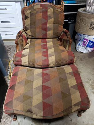 Chair & Ottoman for Sale in Los Alamitos, CA