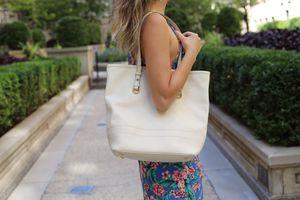 Louis Vuitton cream colored Citadine PM tote bag for Sale in New York, NY