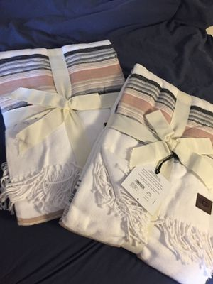 2 BRAND NEW UGG BLANKETS for Sale in Chestnut Hill, MA