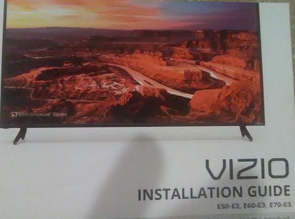 """Vizio TV. 60"""" smart TV"""