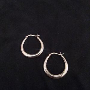 925 Stamped Silver Hoop Earrings for Sale in Glen Burnie, MD