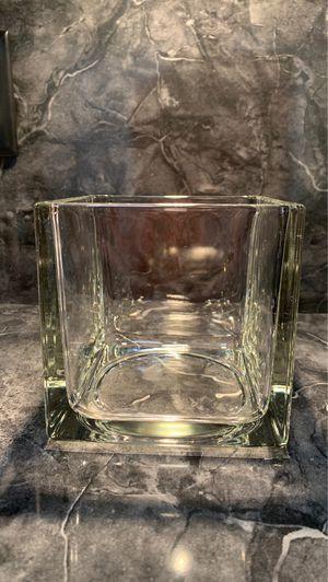 Glass Square Vase for Sale in Davenport, FL