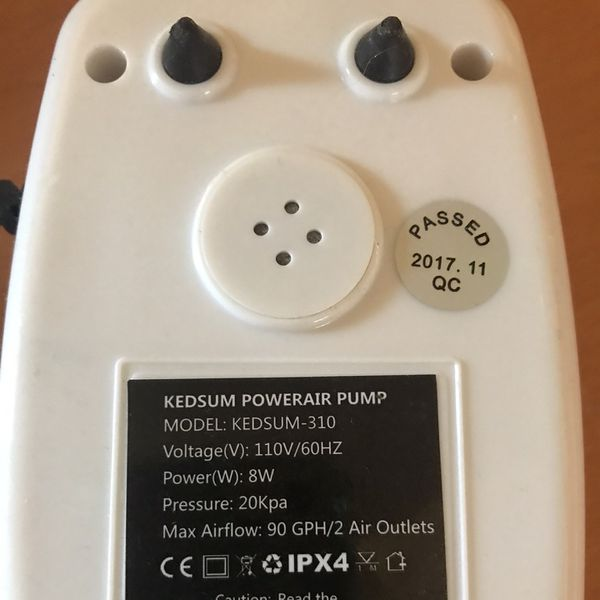 Kedsum Powerair Pump