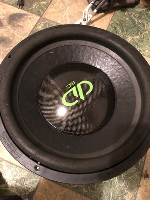 "Dd sc 15""3500rms dual 1 ohm for Sale in Lake Charles, LA"