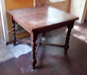 Antique oak table for Sale in Georgetown, TX