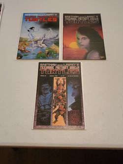 Teenage Mutant Ninja Turtles Book 27, 28, And 29, First Prints 1990 Mirage Studios High Grade Raw Comic Book Lot By Kevin Eastman And Peter Laird for Sale in Fresno,  CA