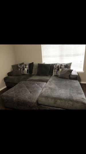 Couch sectional need gone ASAP for Sale in Houston, TX
