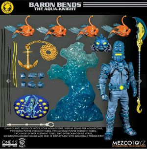Mezco Exclusive One 12 BARON BENDS Figure Set / New, Unopened for Sale in The Bronx, NY