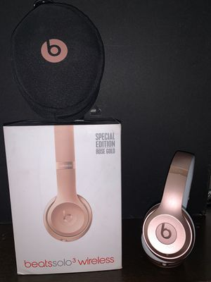 Beats solo 3 wireless Special Edition for Sale in Houston, TX