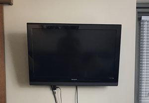 "32"" SHARP Flatscreen TV w/ Mount for Sale in Seattle, WA"