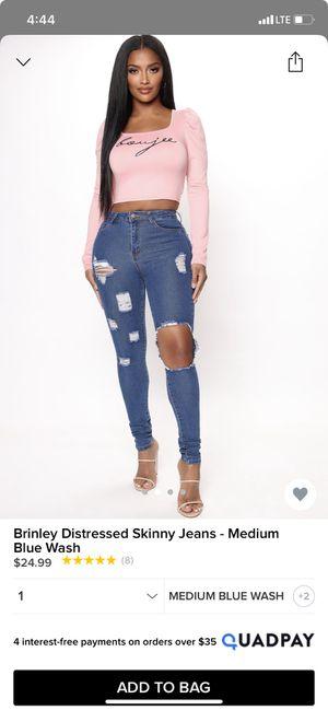 fashion nova jeans for Sale in Las Vegas, NV