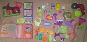 Parts to Little Pet Shop Playset w/figures Accesories Lot & Shopkins for Sale in Leitchfield, KY