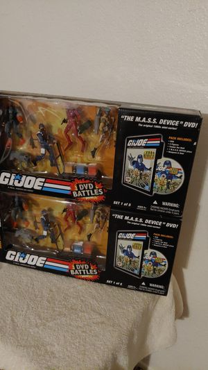 25 ANNIVERSARY GI JOES DVD BATTLES THE M.A.S.S. DEVICE SET 1 OF 5 for Sale in Glendale, AZ