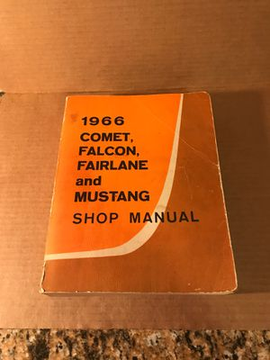 1966 Ford Shop Manual for Sale in Oak Grove, OR