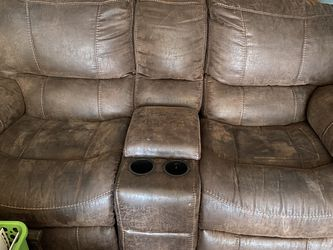 Leather Recliner for Sale in Stone Mountain,  GA