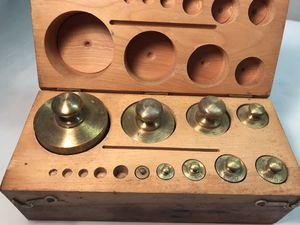 Vintage Brass Weight Set for Sale in Houston, TX