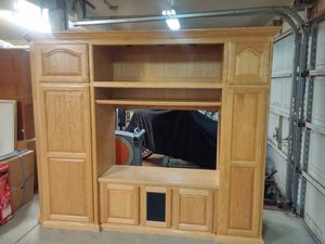 ENTERTAINMENT CENTER(CUSTOM MADE) for Sale in Vacaville, CA