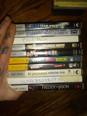 10 pack psp movies3 for Sale in New Rochelle, NY