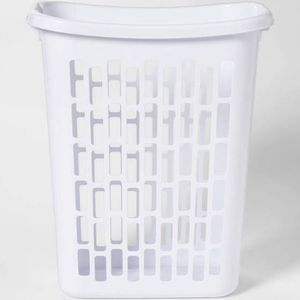White laundry basket for Sale in Oxon Hill, MD