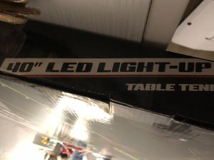 """40"""" led light up ping pong table for Sale in Fresno, CA"""