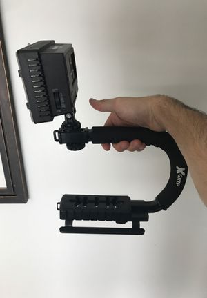 Camera Grip with light for Sale in Boston, MA