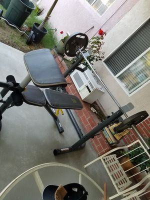 Bench press and squat rack for Sale in US