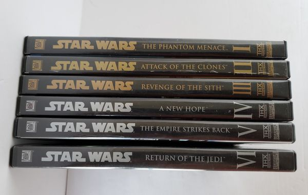 Star Wars Collection 1 to 6 DVDs
