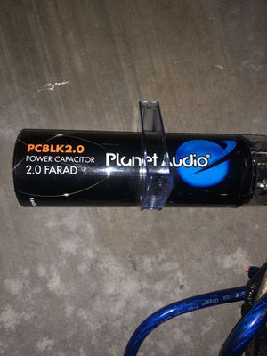 Planet Audio subwoofer bass capacitor PCBLK2.0 for Sale in Los Angeles, CA