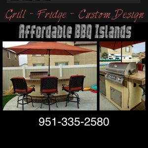 Outdoor kitchens bbq islands patio furniture bar barbeque grills for Sale in Riverside, CA