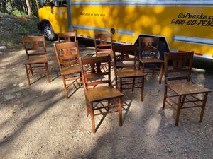 Set of 8 kitchen table chairs for Sale in Nederland, CO