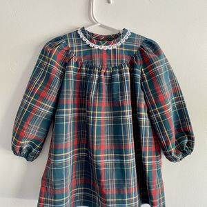 Handmade Long-Sleeve Plaid Holiday Dress 2-3T for Sale in Chula Vista, CA