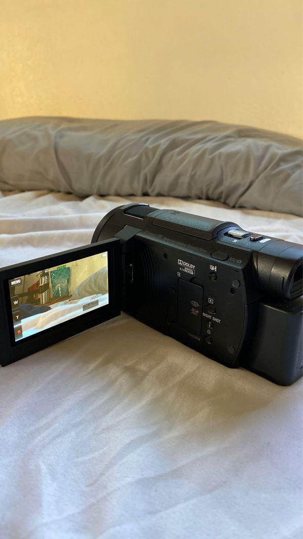 Sony FDR-AX33 4K handyman camcorder