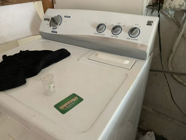 Free Kenmore washer and dryer