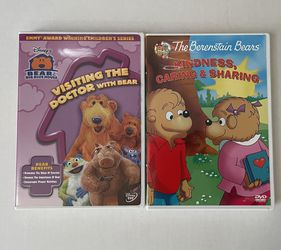 Berenstain Bears and Bear in The Big Blue House Kids Learning DVDs -$5 for Sale in San Leandro,  CA