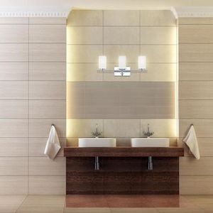 Designers Fountain Dakota 3-Light Chrome Modern/Contemporary Vanity Light for Sale in Bakersfield, CA