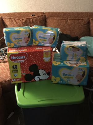 Lot of Newborn Diapers for Sale in BETHEL, WA