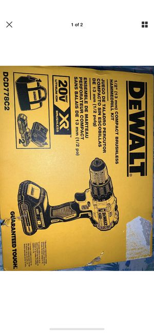 Compact brushless hammer drill for Sale in Las Vegas, NV