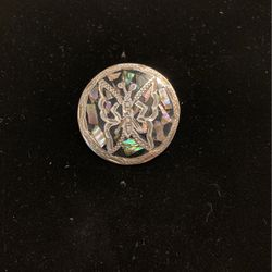 Vintage Sterling Pendant Brooch Combo- Signed 925 Mexico - Beautiful Detail- #artssoflo for Sale in Miami,  FL