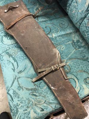 Leather Gun Scabber for Sale in Mukilteo, WA